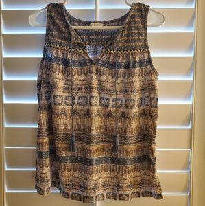 Lucky Brand Sleeveless shirt/blouse